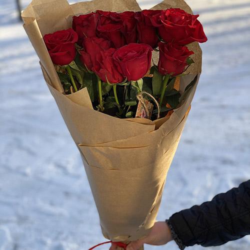 Букет из 11 роз С тобой