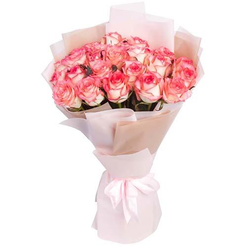 """букет 25 роз """"Джумилия"""" фото"""