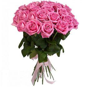 """букет 25 роз """"Аква"""" фото"""