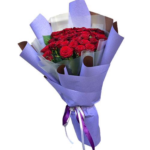 фото букета 33 красные розы