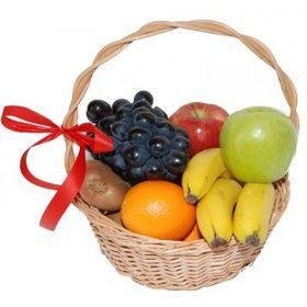 Малая корзина фруктов картинка товара