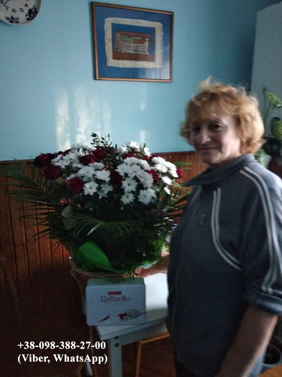 фотоотчет доставки цветов