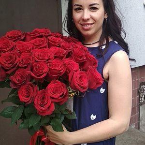 шикарный способ выразить свои чувства - букет 51 красная роза