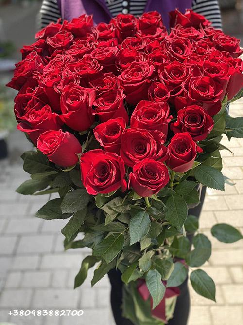 красные розы фото букета