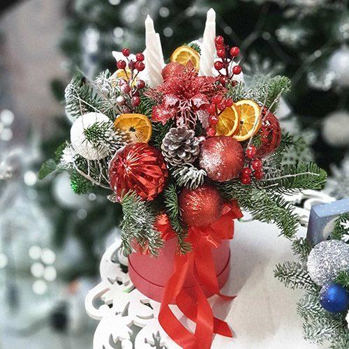 """Фото товара Коробка """"Рождественская вспышка"""" в Житомире"""