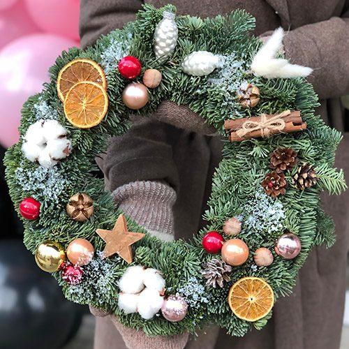 Фото товара Рождественский венок в Житомире