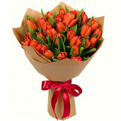 Фото товара 31 маковый тюльпан в крафт в Житомире
