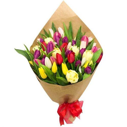 """Фото товара 45 тюльпанов """"Драже"""" в Житомире"""