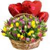 """Фото товара 15 тюльпанов и """"Raffaello"""" в Житомире"""