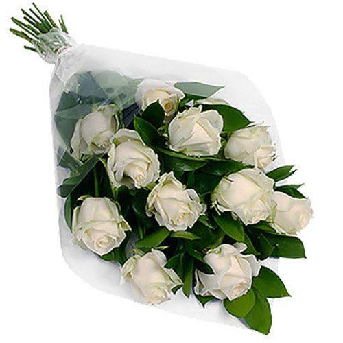 Фото товара 11 белых роз в Житомире