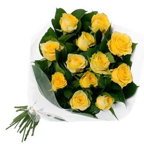 Фото товара 11 желтых роз в Житомире