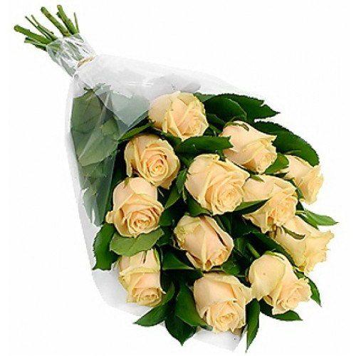 Фото товара 11 кремовых роз в Житомире