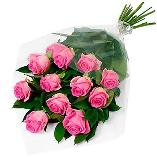 """Фото товара 11 роз """"Аква"""" в Житомире"""