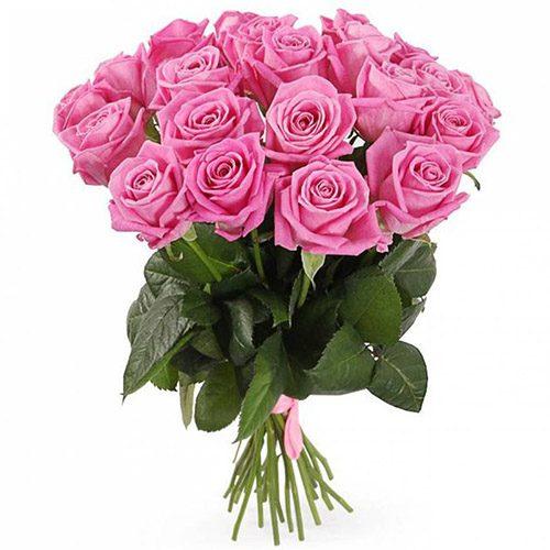 """Фото товара 21 роза """"Аква"""" в Житомире"""