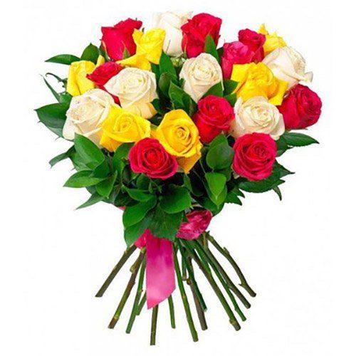 Фото товара 21 роза микс в Житомире