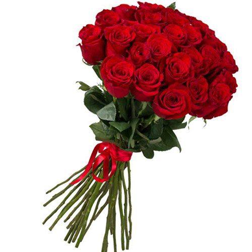 Фото товара 25 импортных роз в Житомире