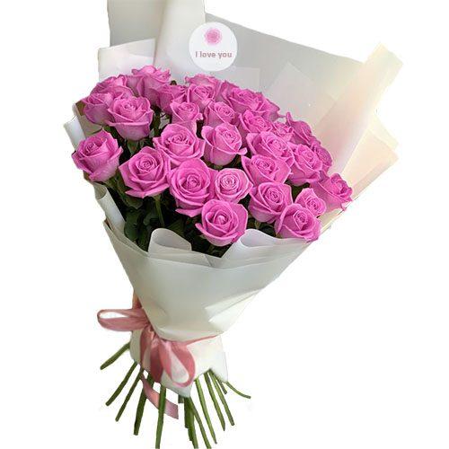 """Фото товара 31 роза """"Аква"""" в Житомире"""