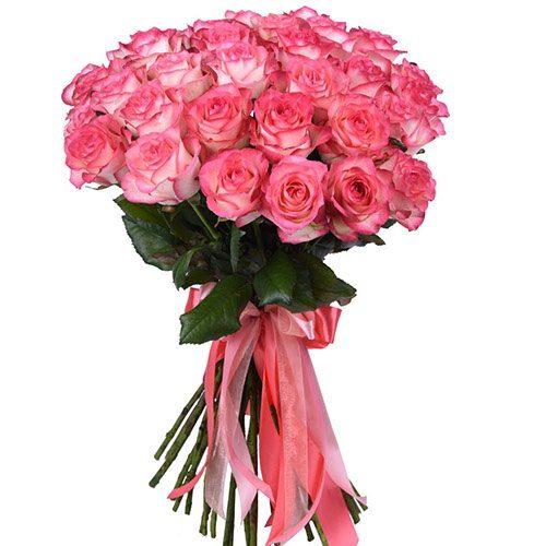 """Фото товара 33 розы """"Джумилия"""" в Житомире"""