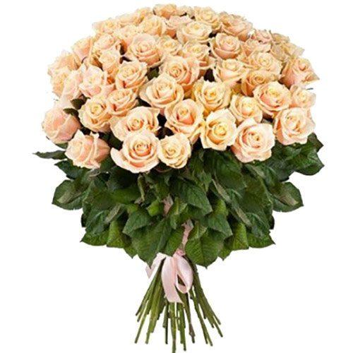 Фото товара 51 кремовая роза в Житомире