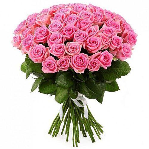 """Фото товара 51 роза """"Аква"""" в Житомире"""