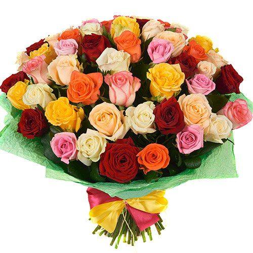 Фото товара 51 роза микс в Житомире