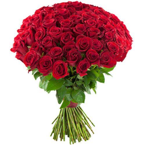 Фото товара 75 красных роз в Житомире