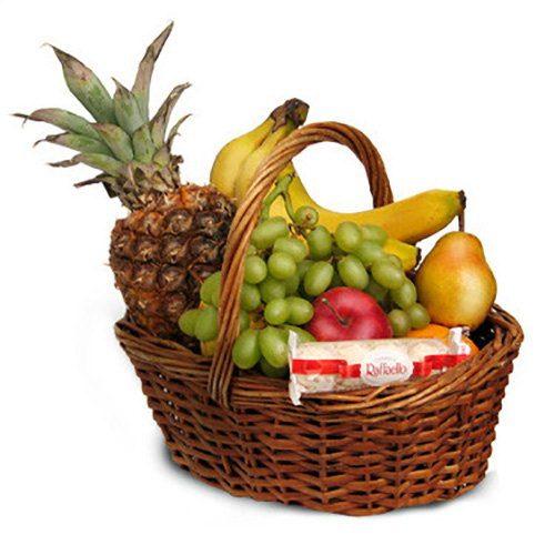 Фото товара Средняя корзина фруктов в Житомире