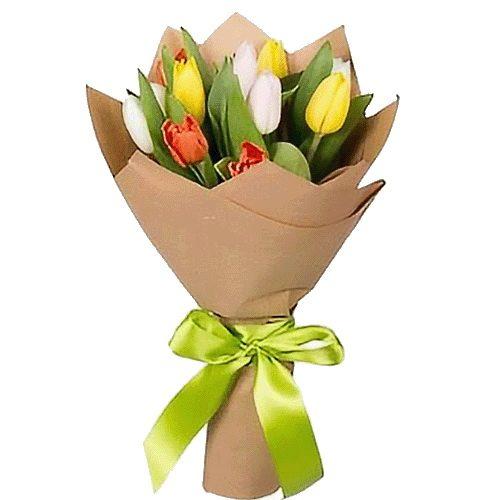 Фото товара 11 тюльпанов микс в Житомире