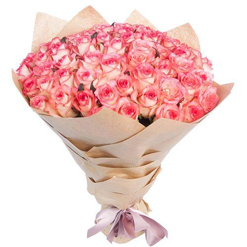 """Фото товара 51 роза """"Джумилия"""" в Житомире"""