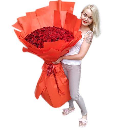 Фото товара 101 метровая роза в Житомире