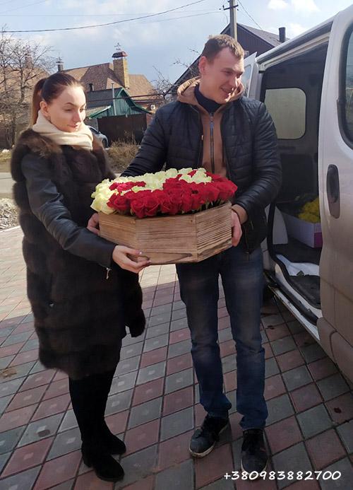 букет роз маме