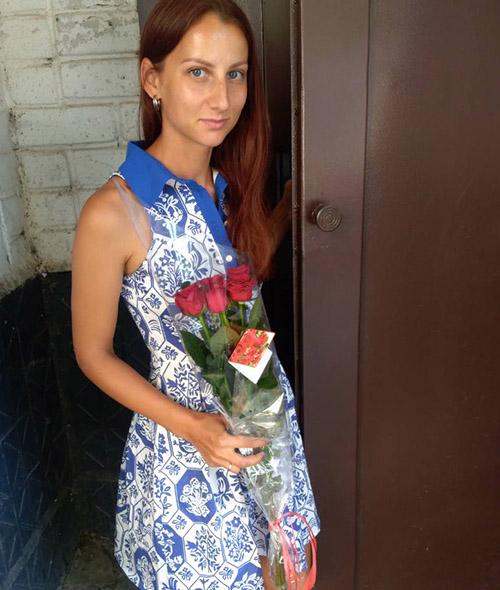 5 красных роз фото доставки в Житомире