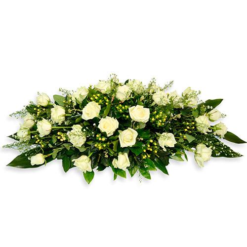 Фото товара Икебана из белых роз в Житомире