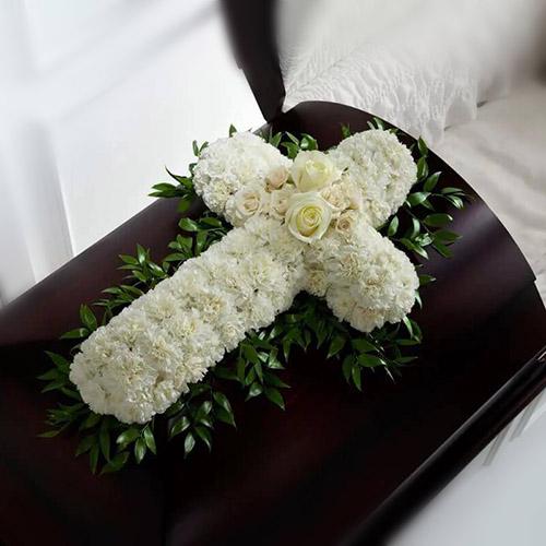 """Фото товара Икебана """"Белый крест"""" в Житомире"""