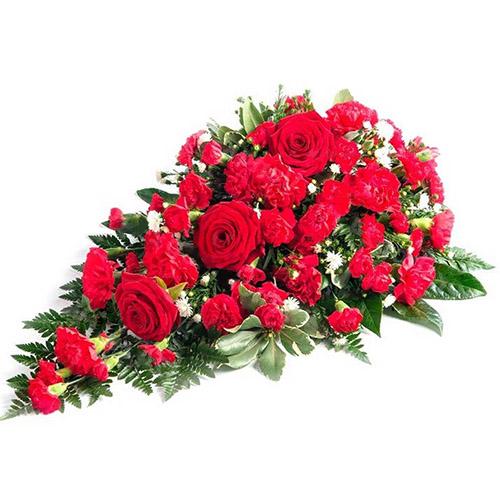 Фото товара Икебана из роз и гвоздик в Житомире