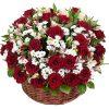 "Фото товара Корзина ""Розы и ромашки"" в Житомире"