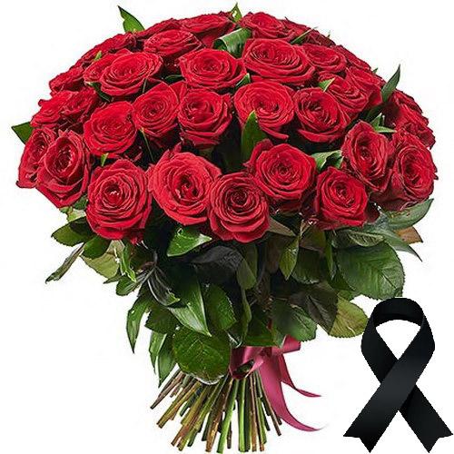 Фото товара 50 красных роз в Житомире