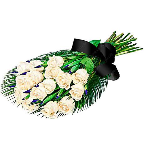 Фото товара 16 белых роз в Житомире