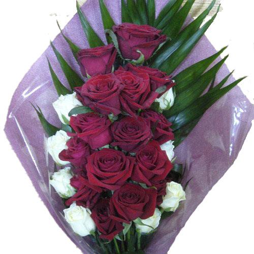 """Фото товара Букет """"Ореол"""" 22 розы в Житомире"""
