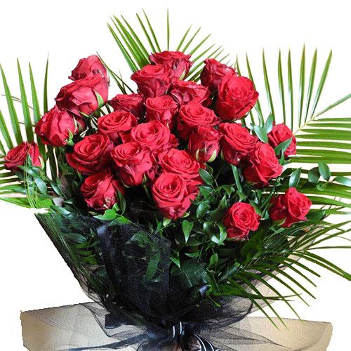 Фото товара 26 красных роз в Житомире