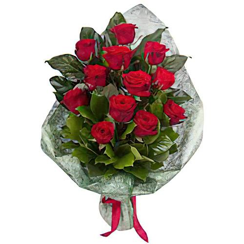 Фото товара 12 красных роз в Житомире