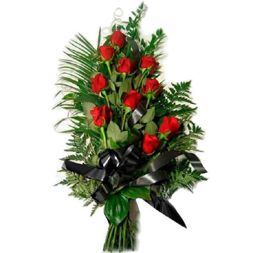 Фото товара 10 красных роз в Житомире